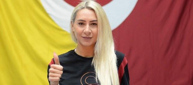 """Gizem Güreşen: """"Galatasaray'da kupa almadan voleybolu bırakmak istemiyorum"""""""