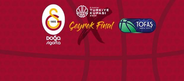 Solgar Vitamin Türkiye Kupası'nda rakibimiz Tofaş
