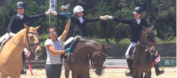 Yağmur Öztürk Binicilikte Türkiye Şampiyonu Oldu