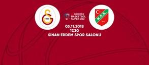 Maça doğru | Galatasaray - Pınar Karşıyaka