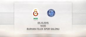 Maça Doğru: Galatasaray HDI Sigorta – Arkas Spor