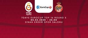 Maça doğru   Galatasaray Doğa Sigorta – AS Monaco