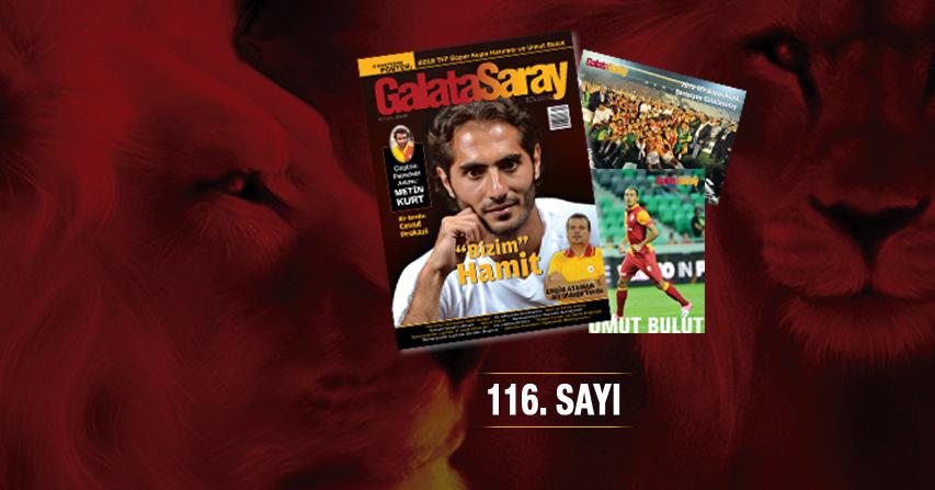 Galatasaray Dergisi'nin 116. Sayısı Bayilerde