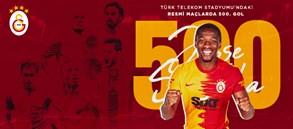 Türk Telekom Stadyumu'nda 500. gol