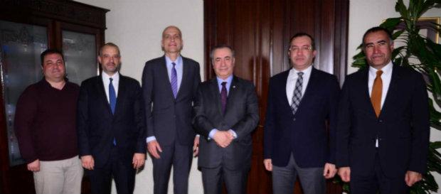 Başkanımız Mustafa Cengiz'den Galatasaray Üniversitesi'ne ziyaret