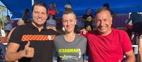 Masters Oceanman Alanya Açık Su Yüzme Yarışı'nda dereceler