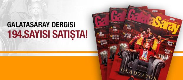 Galatasaray Dergisi'nin 194. sayısı GS Store'larda satışta