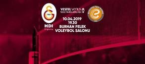 Maça doğru | Galatasaray HDI Sigorta - Eczacıbaşı Vitra