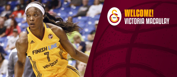 Victoria Macaulay Galatasaray'da