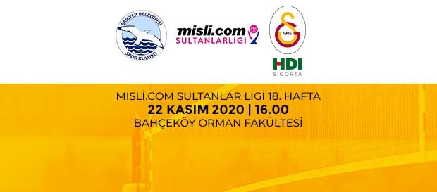 Maça Doğru | Sarıyer Belediye - Galatasaray HDI Sigorta