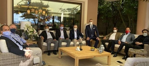 Başkanımız Mustafa Cengiz'e Kulüpler Birliği'nden ziyaret