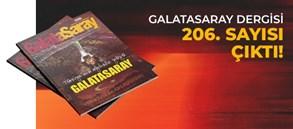 Galatasaray Dergisi'nin 206. sayısı GS Store'larda satışta