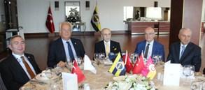 3 Kulübün Divan Kurulu Başkanları bir araya geldi