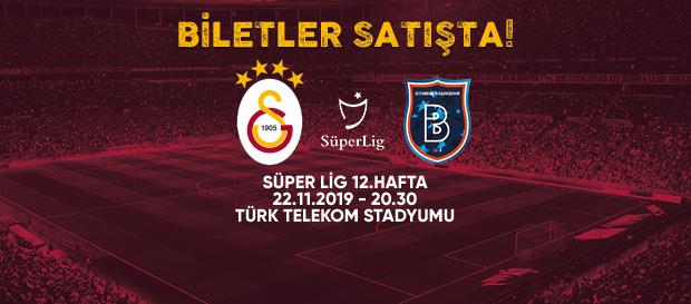 Medipol Başakşehir maçı biletleri satışta