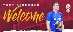 Yury Berezhko Galatasaray HDI Sigorta'da!