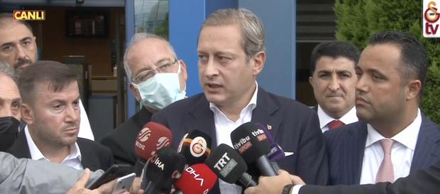 """Başkan Burak Elmas: """"Fatih Terim ile birlikte uzun vadeli bir plan yaptık"""""""