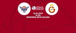 Maça doğru | Gündoğdu Adana Basketbol – Galatasaray