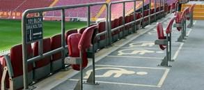 Real Madrid maçı engelli bilet listesi