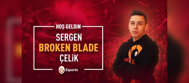 "Sergen ""Broken Blade"" Çelik Galatasaray Espor'da"