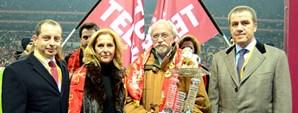Gündüz Kılıç Türk Telekom Arena'da Anıldı