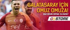 Galatasaray için omuz omuza
