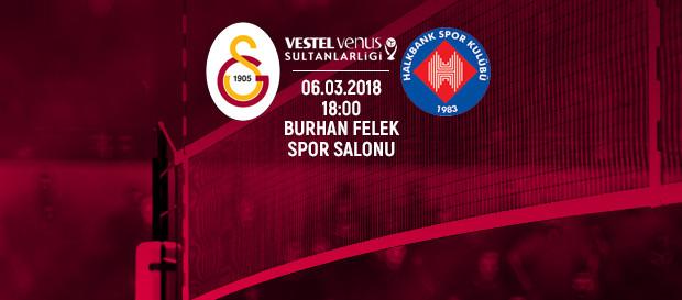 Maça doğru   Galatasaray - Halkbank