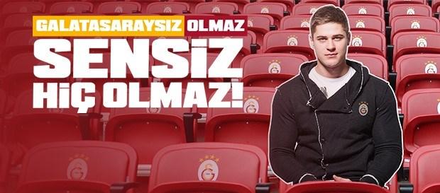 """""""Sensiz Olmaz Galatasaray"""" Kampanyası başladı"""