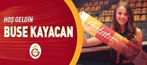 Buse Kayacan resmen Galatasaray'da