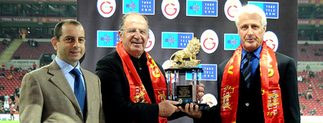 Nihat Akbay Türk Telekom Arena'daydı