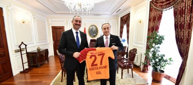 Başkanımızdan Bakan Abdulhamit Gül'e Ziyaret