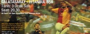 Galatasaray – İstanbul BŞB Maç Günü Ağırlama Paketleri Satışta