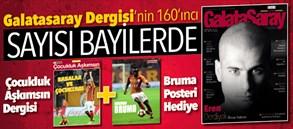Galatasaray Dergisi'nin 160. sayısı satışta