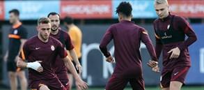 Lazio maçı hazırlıkları tamamlandı