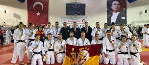Galatasaray Women and Men Judo unbeaten champions in Turkish Super League