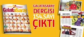 Galatasaray Dergisi 154. Sayısı Bayilerde