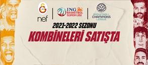 Galatasaray NEF 2021-2022 Sezonu Kombineleri Satışta!