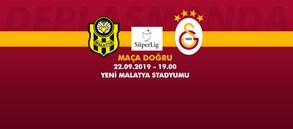 Maça doğru   BtcTurk Yeni Malatyaspor – Galatasaray
