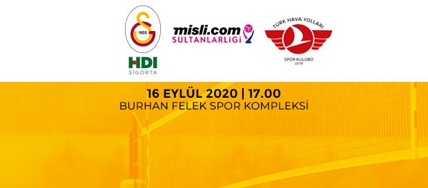 Maça Doğru | Galatasaray HDI Sigorta - Türk Hava Yolları
