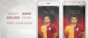 Wesley Sneijder - Burak Yılmaz Mobil Duvar Kağıdı