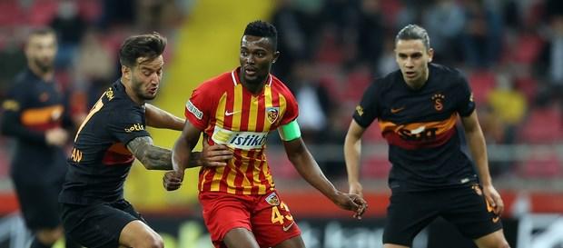 Kayserispor 3-0 Galatasaray