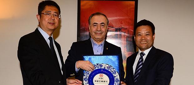 ICBC'den Başkanımız Mustafa Cengiz'e nezaket ziyareti