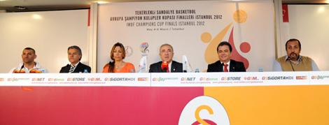 Avrupa Şampiyon Kulüpler Kupası Basın Toplantısı Düzenlendi