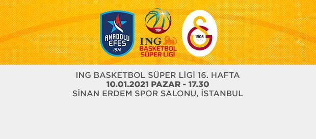 Maça Doğru | Anadolu Efes - Galatasaray