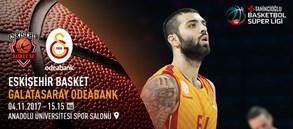 Maça doğru | Eskişehir Basket – Galatasaray Odeabank