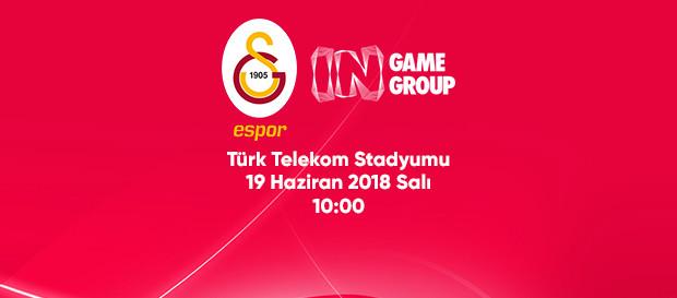 Galatasaray ve InGame Group iş birliği anlaşması