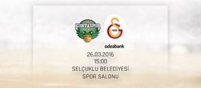 Maça Doğru: Torku Konyaspor – Galatasaray Odeabank