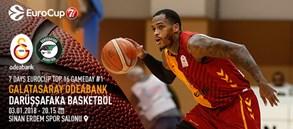 Maça doğru | Galatasaray Odeabank – Darüşşafaka Basketbol