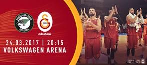 Maça doğru   Darüşşafaka Doğuş – Galatasaray Odeabank