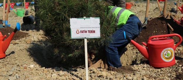 Galatasaray Adana Fatih Terim Ormanı açıldı