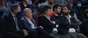 Patrick Comninos kulübümüzün davetlisi olarak İstanbul'a geldi